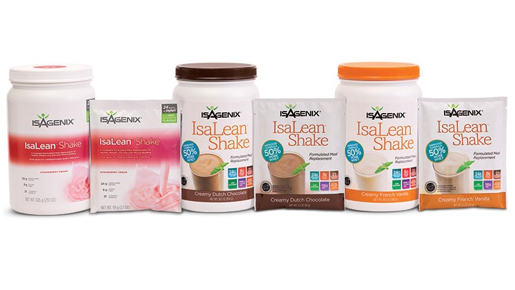 Isagenix Shakes Now in Strawberry