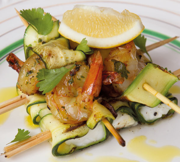 Prawn and Zucchini