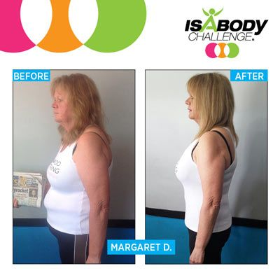 Margarets Isagenix Results