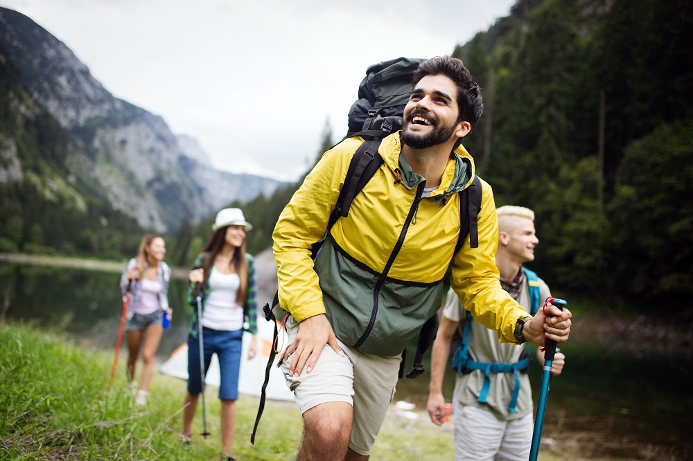 Hiking is a great way to incorporate exercise in to your routine